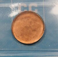 CANADA ERROR FULL BROCKAGE  REVERSE  SMALL CENT CCCS CERTIFIED MS 60 UNCIRC