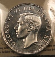 1949 CANADA SILVER SHIP DOLLAR ICCS MS 66 SUPER GEM UNC. GREAT EYE APPEAL