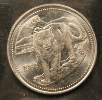 1984 JASPER PARK TRADE DOLLAR   COUGAR. CANADA NATIONAL PARK.