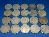 LOT OF 20 1921 MORGAN SILVER DOLLAR COINS   10 PHILADELPHIA