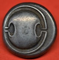 SUPERB SILVER STATER OF THEBES BOEOTIA 368 364 BC. SHIELD / AMPHORA. E.F