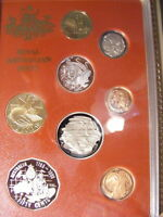 AUSTRALIA 1988 PROOF SET COPPERS ARE STILL FULL RED ALL ARE