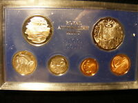 AUSTRALIA 1976 PROOF SET COPPERS ARE STILL FULL RED AND REST