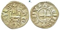 SAVOCA COINS CRUSADERS THEBES GUILLAUME DENIER 0 79 G / 18 M