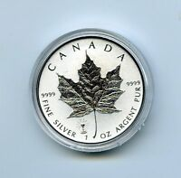 2018 $5 CANADA SILVER MAPLE LEAF EDISON LIGHT BULB PRIVY REV