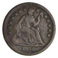 5C    1/2 DIME     1856 SEATED LIBERTY HALF DIME   EARLY AME