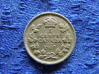 CANADA 5 CENTS 1907 KM13