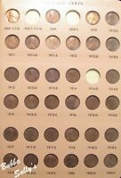 NEARLY COMPLETE SET OF LINCOLN CENTS 1909 2007 IN DANSCO ALB