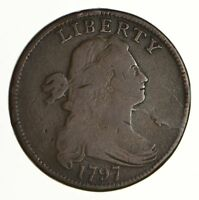 1797 DRAPED BUST LARGE CENT -S-126 - CIRCULATED 6962
