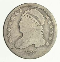 1837 CAPPED BUST DIME - CIRCULATED 4101