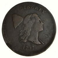 1797 LIBERTY CAP HALF CENT - CIRCULATED 6842