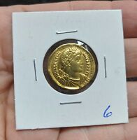 VALENTINIAN I 364 75AD SOLIDUS GOLD ANCIENT ROME ANTIOCH  4.