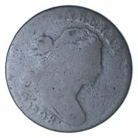 1798 DRAPED BUST LARGE CENT - S-179 - CIRCULATED 0223