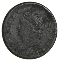 1808 CLASSIC HEAD LARGE CENT - CIRCULATED 1884