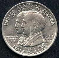 1921 UNITED STATES COMMEMORATIVE HALF DOLLAR