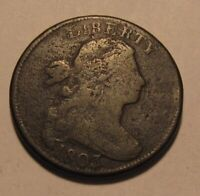 1803 DRAPED BUST LARGE CENT PENNY    CIRCULATED CONDITION