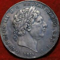1819 GREAT BRITAIN 1 CROWN SILVER FOREIGN COIN