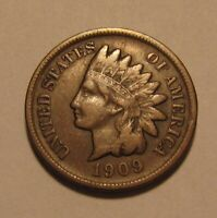1909 S INDIAN HEAD CENT PENNY   VERY FINE   CONDITION   67SU