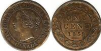 CANADA 1859  LARGE CENT  N9  LOW 9   REP O IN ONE NICE GRADE