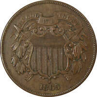 1865 TWO CENT EXTRA FINE