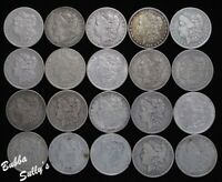 ROLL OF PRE 1921 MORGAN SILVER DOLLARS  <> ALL CIRCULATED