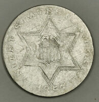 1857 3 CENT SILVER.  CIRCULATED.  135299