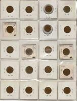 ESTATE COIN LOT | PAGE OF WORLD COINS | UNSEARCH | WORLD COI