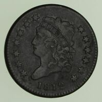 1812 CLASSIC HEAD LARGE CENT - CIRCULATED 9041