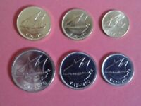 KUWAIT FULL COINS SET OF 6 PCS.  1 5 10  20  50 & 100 FILS  UNC