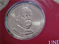 6 - 2012 D GROVER CLEVELAND  DOLLARS FROM MINT SETS BU   1ST TERM 1885 - 1889
