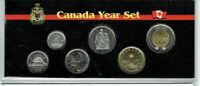 2018 CANADIAN BRILLIANT UNCIRCULATED CANADIAN SIX COIN YEAR SET IN NICE DISPLAY