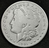 1901-O  MORGAN SILVER DOLLAR.  CHECK FOR VAM.  CIRCULATED.  91371