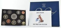2007 UNITED KINGDOM 12 COIN PROOF COLLECTION   THE ROYAL MIN
