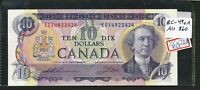 1971 $10 BANK OF CANADA REPLACEMENT NOTE EDX. AU 50. BC 49EA.