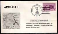 APOLLO 1  AS201  SATURN 1 B ROCKET LAUNCH  02/26/66 BY ASTRO COVERS