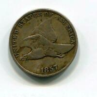 1857 FLYING EAGLE CENTS   1 CENT   EARLY CENT   PHILADELPHIA RC16847
