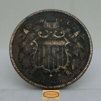 1868 TWO CENT PIECE 2 CENTS       B16007