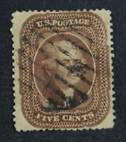 CKSTAMPS: US STAMPS COLLECTION SCOTT30A 5C JEFFERSON USED LI