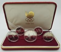 1988 KOREA SEOUL OLYMPIC GAMES COMMEMORATIVE STERLING SILVER