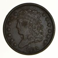 1835 CLASSIC HEAD HALF CENT - CIRCULATED 6961