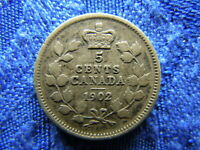 CANADA 5 CENTS 1902 KM9