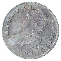 1831 CAPPED BUST HALF DOLLAR - CHOICE 0411
