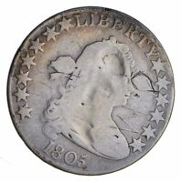 1805 DRAPED BUST HALF DOLLAR - CIRCULATED 1292