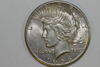 GRADES ABOUT UNCIRCULATED 1926 P SLIDER 90 SILVER PEACE DOLLAR PDX1219