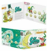 2019 AUSTRALIA MR SQUIGGLE AND FRIENDS 7 COIN COLLECTION SET