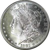 1881 S MORGAN DOLLAR BU UNCIRCULATED MINT STATE 90  SILVER $1 US COIN