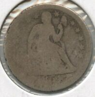 1854-O SEATED LIBERTY DIME - NEW ORLEANS MINT BD147