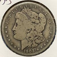 1903-S $1 MORGAN SILVER DOLLAR 51136