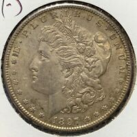 1897-S $1 MORGAN SILVER DOLLAR 51133