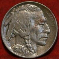 1914 S SAN FRANCISCO MINT BUFFALO NICKEL